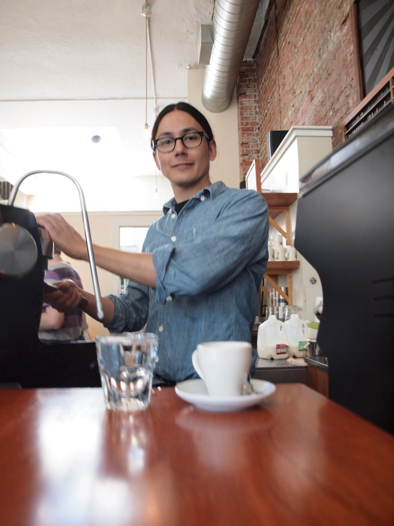 barista, seattle barista, victrola coffee, seattle coffee